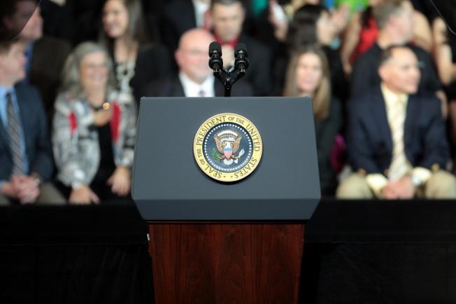 President's Podium