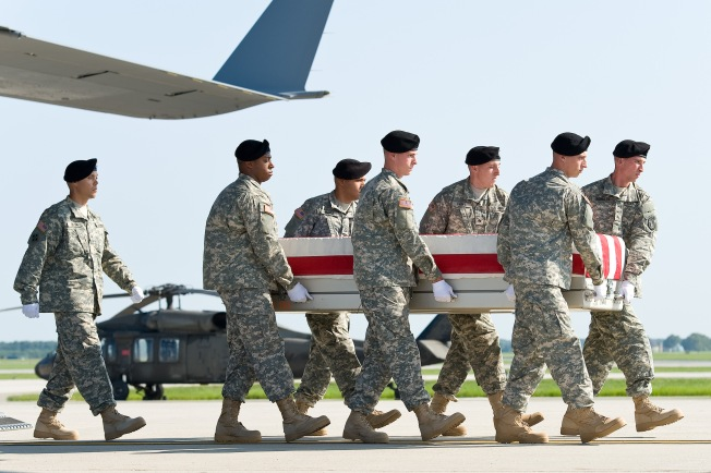 Dignified Transfer at Dover AFB