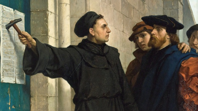 "brief summary of the 95 theses Historians usually date the start of the protestant reformation to the 1517 publication of martin luther's ""95 theses"" its ending can be placed anywhere from."